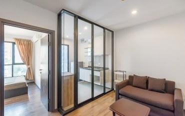 曼谷酒店公寓住宿:素坤逸路77公寓 大床房 靠近BTS