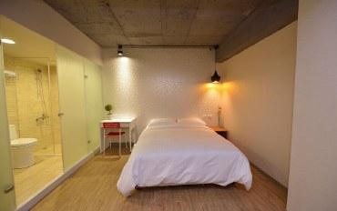 台北酒店公寓住宿:步行可抵SOGO百货 舒适宽敞房#604