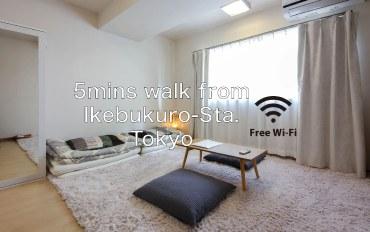 日本酒店公寓住宿:池袋站徒歩5分温馨单间公寓