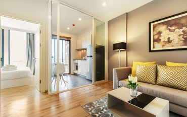 普吉岛酒店公寓住宿:普吉镇中心 大床房公寓 可住2人