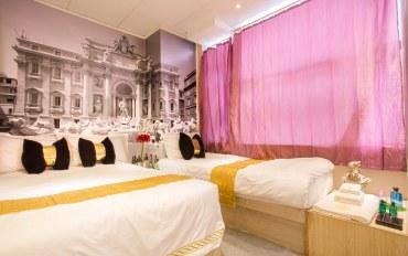 香港酒店公寓住宿:香港轩尼诗道罗马假日家庭房