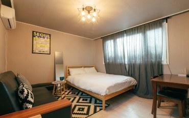 首尔酒店公寓住宿:弘大站1分钟 两室公寓#001