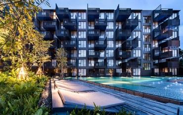 普吉岛酒店公寓住宿:送接机!无边泳池,巴东海滩45平高档公寓
