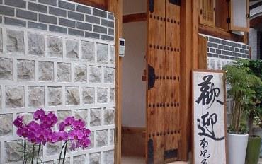 首尔酒店公寓住宿:钟路传统韩屋 梅花二人室&免费早餐