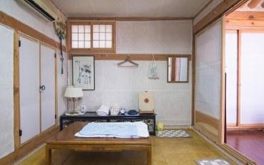 首尔酒店公寓住宿:钟路传统韩屋 蘭草家族室&免费早餐