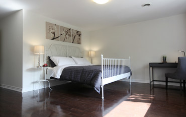 多伦多酒店公寓住宿:多伦多北约克别墅- 特大床套房