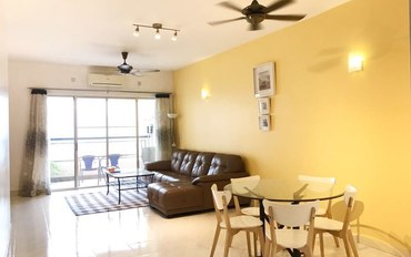 马来西亚酒店公寓住宿:近双子塔舒适三居室