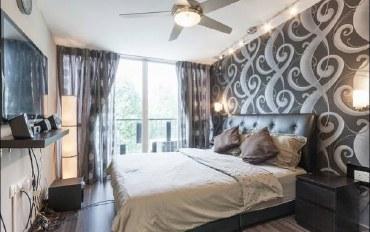 新加坡酒店公寓住宿:阳台景观  整洁舒适公寓