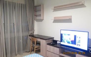 芭提雅酒店公寓住宿:近芭提雅  33楼一室公寓  配套齐全