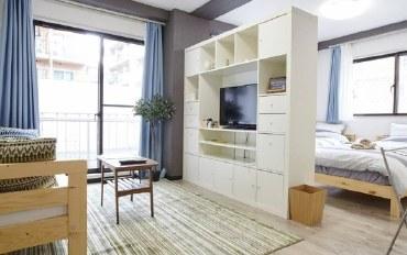 日本酒店公寓住宿:西新宿 两张单人床 一张沙发床