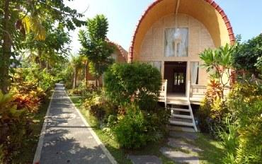 巴厘岛酒店公寓住宿:异国情调的木屋