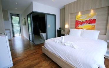 普吉岛酒店公寓住宿:一室公寓,步行可达海滩