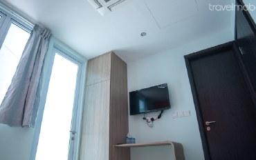 新加坡酒店公寓住宿:新建大楼的双人公寓