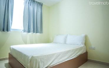 新加坡酒店公寓住宿:简单的私人房间(双人)