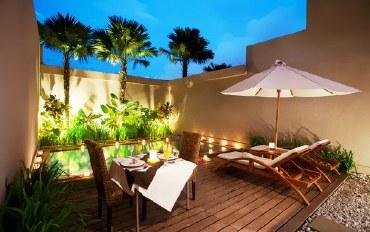 巴厘岛酒店公寓住宿:蜜月别墅 5分钟到BatuBelig海滩