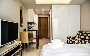 芭提雅酒店公寓住宿:水上公园的单间公寓
