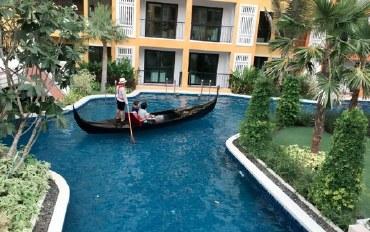 芭提雅酒店公寓住宿:一居室公寓/水上乐园/游泳池
