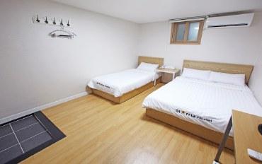 韩国酒店公寓住宿:近明洞 宽敞明亮3人房