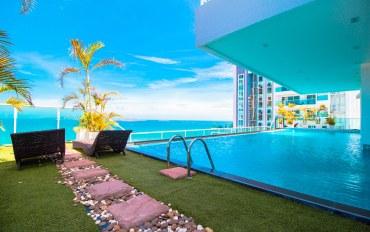 芭提雅酒店公寓住宿:一室公寓 可看Pratumnak美景