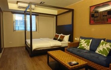 台北酒店公寓住宿:步行五分钟西门地铁 岛屿双人房