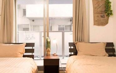 日本酒店公寓住宿:暖暮民宿 日本大阪 心斋桥3号馆 双床房