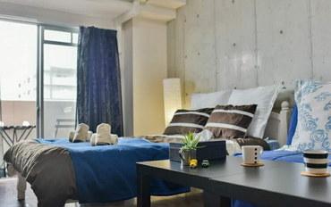 日本酒店公寓住宿:暖暮民宿 日本 大阪 难波1号馆 大床房