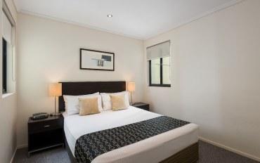 布里斯班酒店公寓住宿:1居室行政公寓