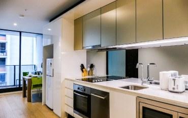 墨尔本酒店公寓住宿:现代感的曼哈顿,近南十字星火车站