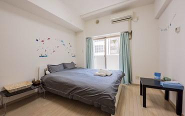 日本酒店公寓住宿:心斋桥商店街1号馆 暖暮民宿 大床房