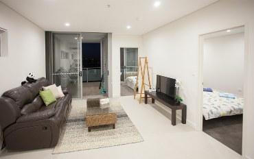 悉尼酒店公寓住宿:悉尼2房智能公寓靠近奥林匹克公园近火车站