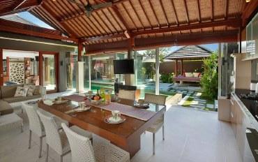 巴厘岛酒店公寓住宿:促销价!8分步行66海滩,海岛风6人房