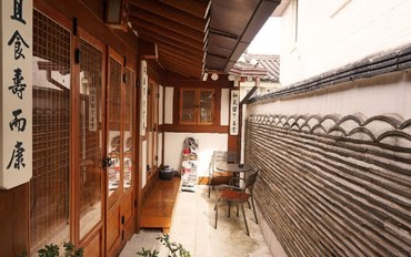 首尔酒店公寓住宿:景福宫附近的韩屋-梅室三人间