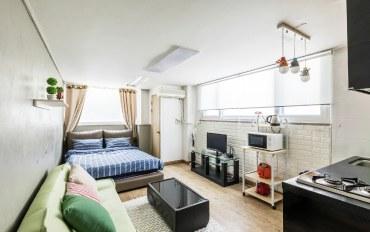 韩国酒店公寓住宿:首尔站3分钟 温馨2人房#05