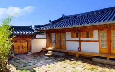 全州酒店公寓住宿:韩式2人地暖房