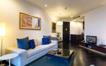 曼谷酒店公寓住宿:河畔公寓–城市景观1居室套房