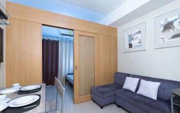 马尼拉酒店公寓住宿:马尼拉湾贝壳公寓-豪华房(带阳台)