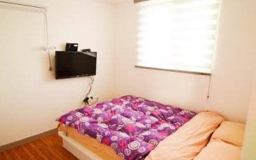首尔酒店公寓住宿:东大门地区/距青丘站2分钟/大床房