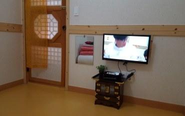 全州酒店公寓住宿:传统韩屋体验民宿 微笑2人房