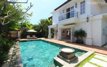 巴厘岛酒店公寓住宿:水明漾三卧室联排别墅