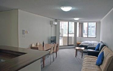 悉尼酒店公寓住宿:肯特街双卧室带阳台