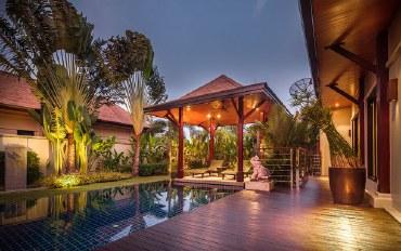 普吉岛酒店公寓住宿:普吉岛奈汉 3卧泳池别墅