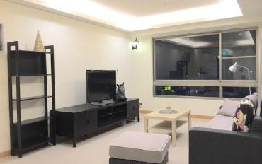 新北酒店公寓住宿:林口全新装潢,客厅餐厅格局,泳池.健身.