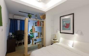 台南酒店公寓住宿:松宿轻旅-孔庙馆 (4房2厅/双卫) #
