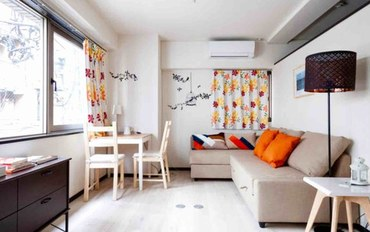 东京酒店公寓住宿:两卧一卫舒适型公寓