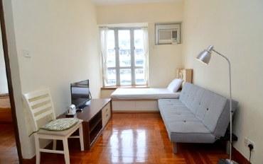 香港酒店公寓住宿:佐敦市中心2卧舒适公寓