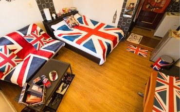 台北酒店公寓住宿:Clive的英伦风2人房 @西门町