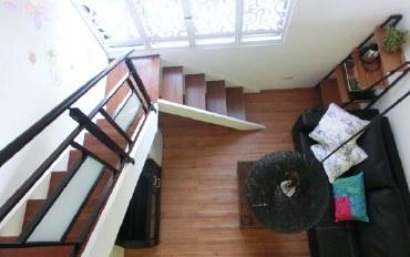 台南酒店公寓住宿:【南筑雅室】花园阁楼楼中楼四人套房