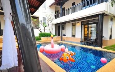 芭提雅酒店公寓住宿:芭提雅四卧室泳池别墅