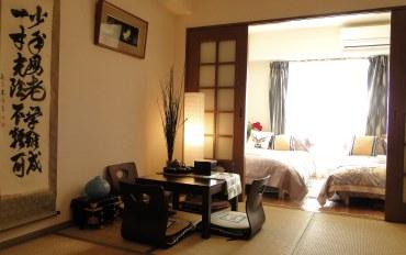 日本酒店公寓住宿:阳光明媚难波,心斋桥舒适6人公寓72