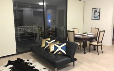 悉尼酒店公寓住宿:悉尼近UNSW精装两房两卫公寓